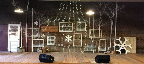 reclaiming christmas church stage design ideas
