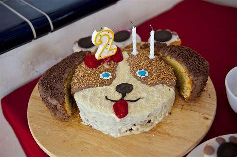 geburtstagskuchen hund puppy birthday cake basteln und