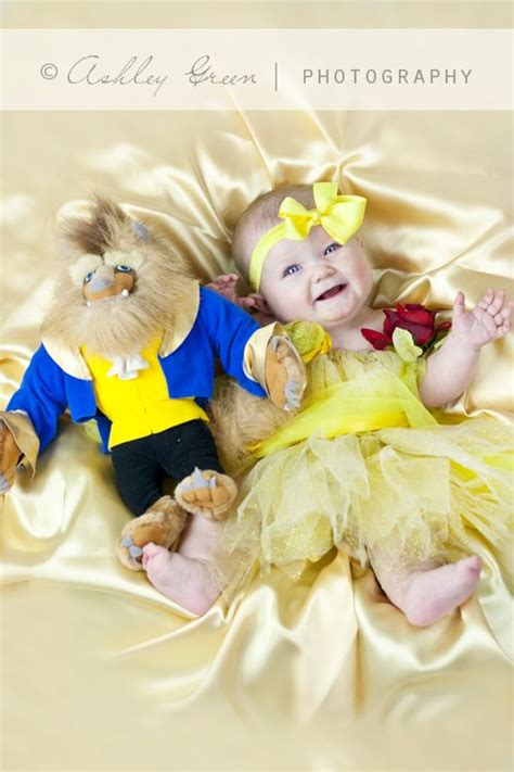 beauty   beast baby photo session  happiest