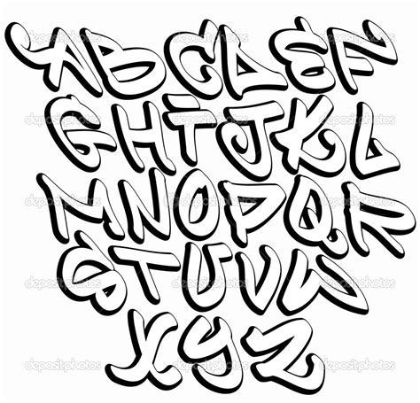 cool letter fonts cool letters equipped portrayal graffiti font hip 22738