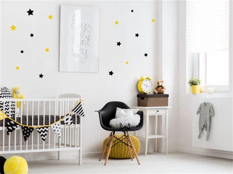 muursticker sterren sterren scandinavisch babykamer