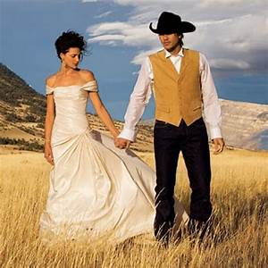 rustic country western wedding dresses and themes for any With western dresses for wedding