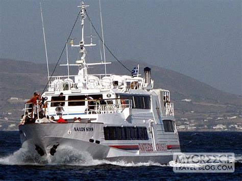 Boat Trip Naxos by Getting To Delos From Mykonos Naxos And Paros My Greece