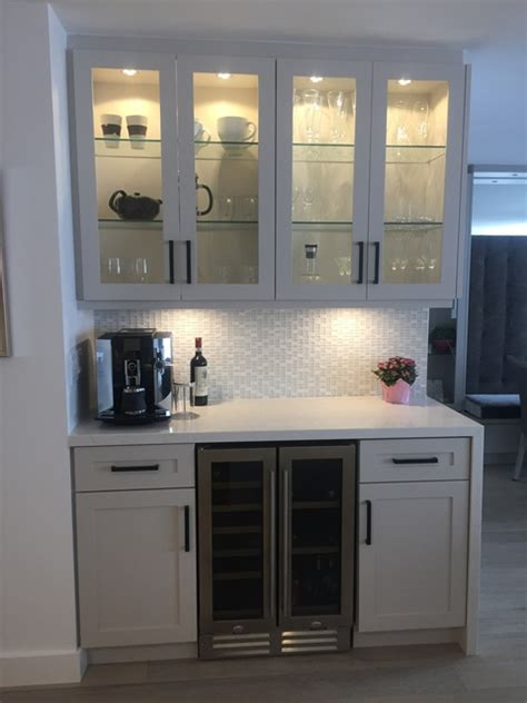 built in coffee bar review of sky kitchens cabinetry millwork in toronto 4986