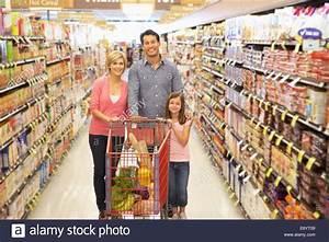 Family shopping in supermarket Stock Photo, Royalty Free ...