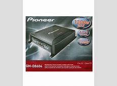 Pioneer Gm D8604 Review 5