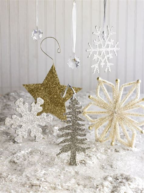 idees de decoration de noel blanche  classiques modernes