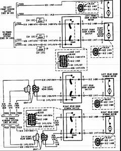 1995 Jeep Cherokee Door Lock Schematic