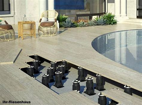 terrassenplatten stelzlager verlegen anleitung bildergebnis f 252 r terrassenplatten auf stelzlager verlegen ecke stelzlager