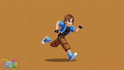 Pixel 2d Animation Vector Character Run Artist