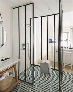 une douche plutot originale concept tis design With charme et parquet