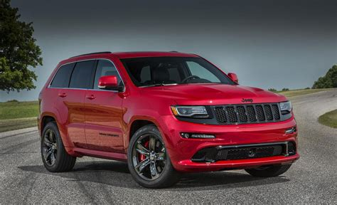 2015 Jeep Grand Cherokee Srt Unveiled With 475-hp