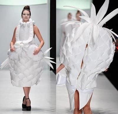 worst wedding dresses venera kazarova runway pineapple