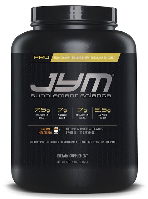 Amazon.com: JYM Supplement Science, PRO JYM, An optimal