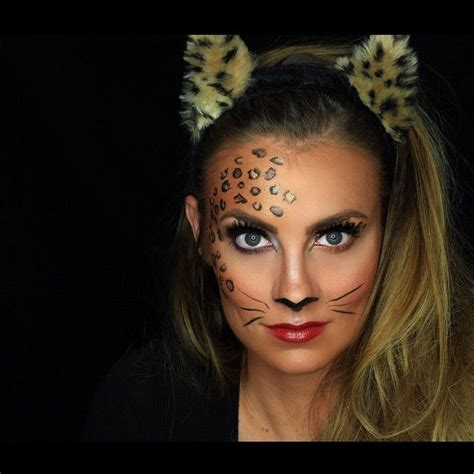 leopard make up rawwwr n e w leopard makeup