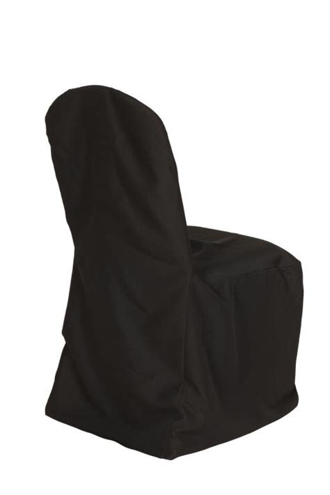 black polyester banquet chair covers for weddings bridal