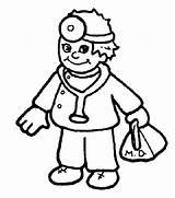 Hospital Coloring Pages Cartoon Doctor Nurse Male Nursing Printables Drawing Sheets Getcolorings Printable Getdrawings Pa Pag sketch template