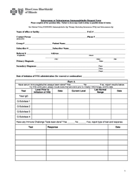 printable bcbs claim form illinois templates fillable
