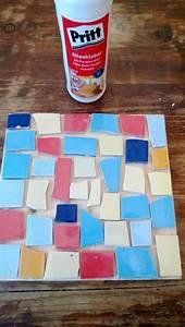 Mosaiksteine Auf Holz Kleben : untersetzer mit mosaiksteinen handmade kultur ~ Markanthonyermac.com Haus und Dekorationen