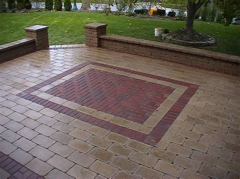 brick patio fletcher s custom design brick paving llc delaware oh 43015 angies list