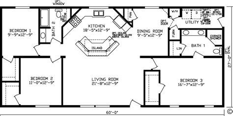 3 bed 2 bath floor plans floor plans northland manufactured home sales inc