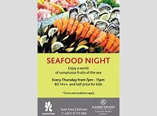 Seafood Night Events WhatsUpBahrainnet