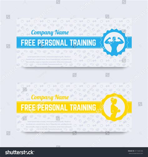 Personal Trainer Gift Certificate Template by Personal Gift Certificate Template