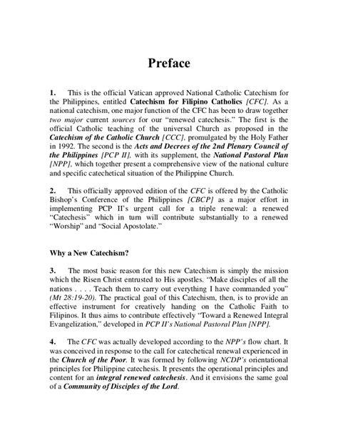 CATECHISM FOR FILIPINO CATHOLICS PDF