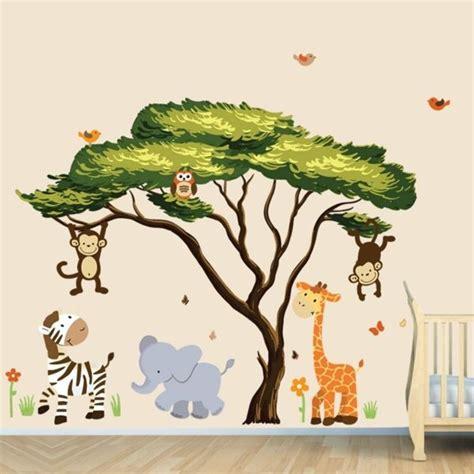 Safari Gestalten by Babyzimmer W 228 Nde Gestalten Malen Motiv Vorlagen