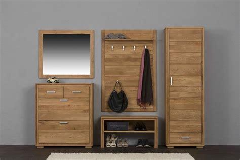 garderoben set massiv garderoben set basel i wildeiche massivholz ge 246 lt gewachst 5 teilig