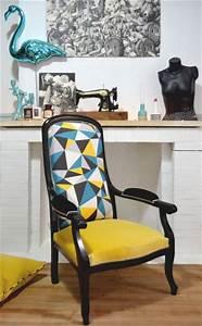 les 25 meilleures idees de la categorie fauteuil voltaire With comment tapisser un meuble 3 les 25 meilleures idees de la categorie escalier