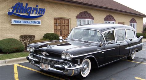 Vintage Hearse  Ahlgrim Family Funeral Services