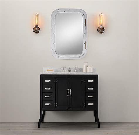 pharmacy single vanity sink