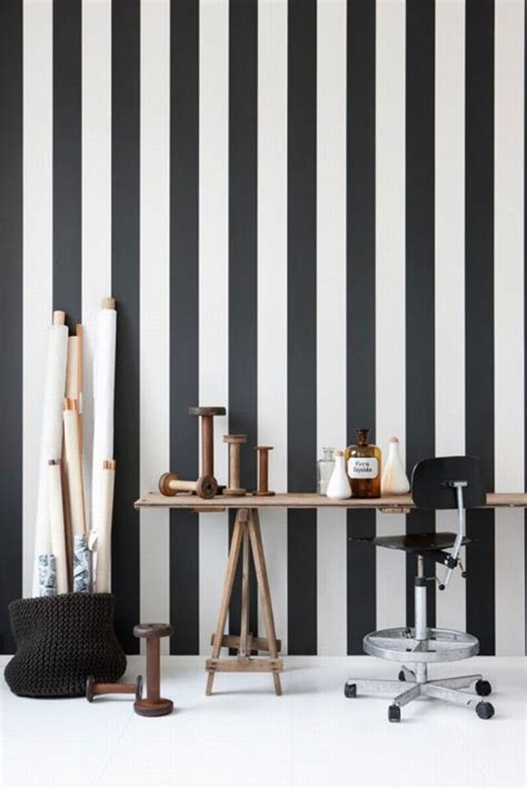 bold ideas  striped walls brit