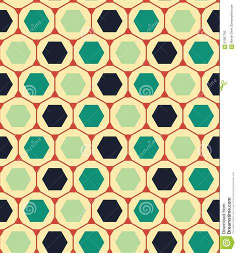 vector modern seamless colorful geometry pattern hexagon
