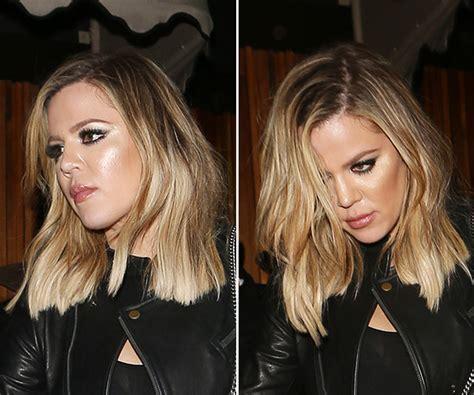 Khloe Kardashian's Lob Hair