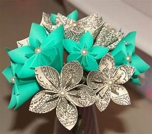 un origami facile fleur a offrir ou pour vous amuser With affiche chambre bébé avec fleur exotique bouquet