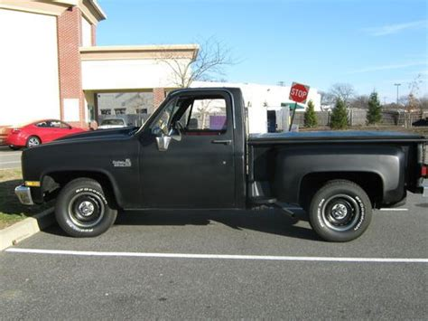 Find Used 1984 Chevrolet Chevy C10 Side Step Pickup Truck