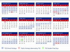 Calendar The Southport School