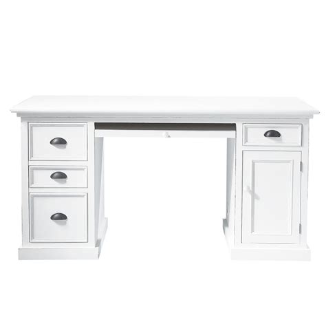 bureau pin blanc bureau bois blanc