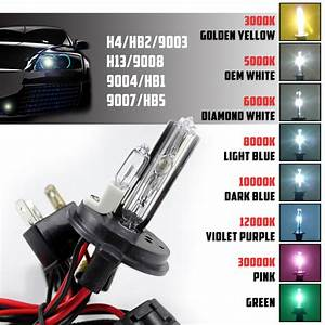 Two Xentec Hid Kit  U0026 39 S Replacement Xenon Light Bulb Dual