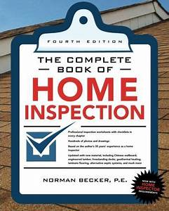 Complete Book Of Home Inspection 4  E  The Complete Book