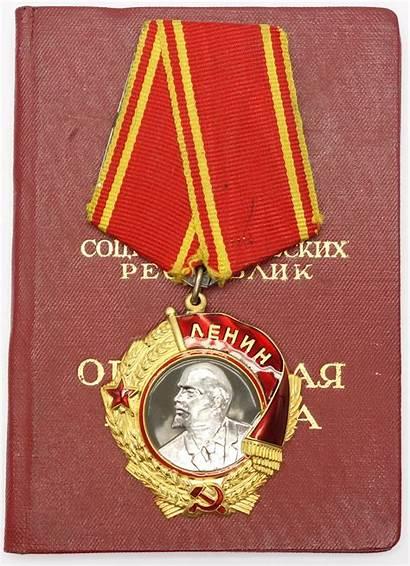 Lenin Order Soviet Document