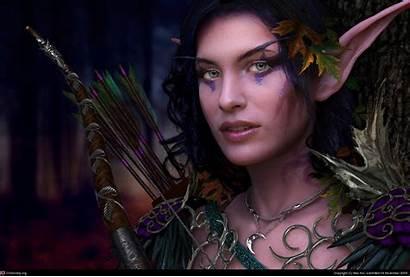 Cg Realistic Elf 3d Features Female Elves