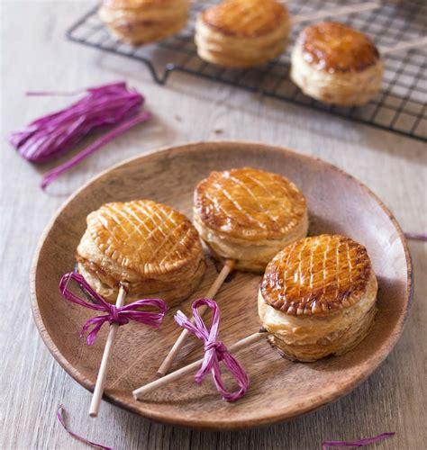 pie pops aux pommes mini galettes des rois recette en