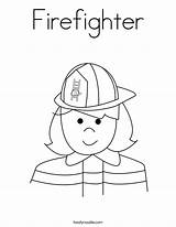 Firefighter Coloring Worksheet Fire Firefighters Twistynoodle Prevention Fireman Week Preschool Sheet Safety Helpers Colouring Sheets Printable Usa Built California Login sketch template