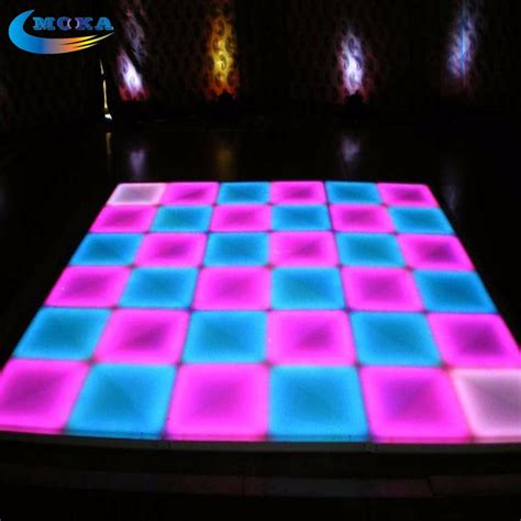 32 Square Meters Lot 1m 1m Led Disco Dance Floor Light