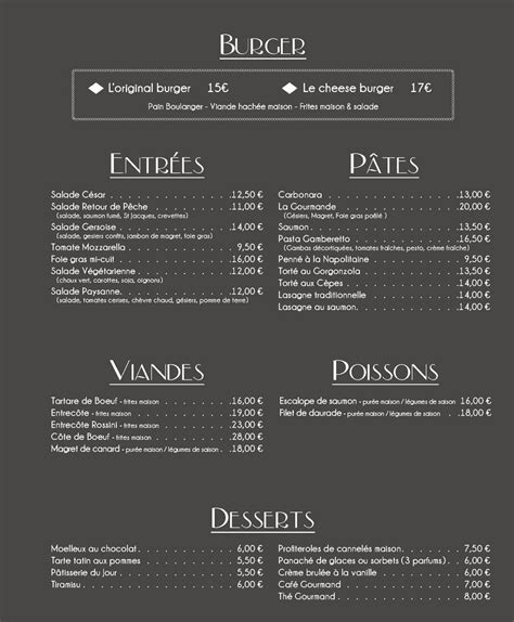 au grand comptoir au grand comptoir 224 toulouse carte menu et photos