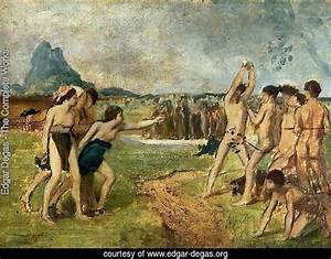 Edgar Degas - The Complete Works - Young Spartans ...
