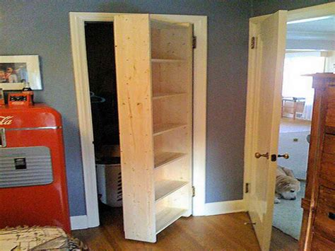 closet door ideas using custom made 6 tier open